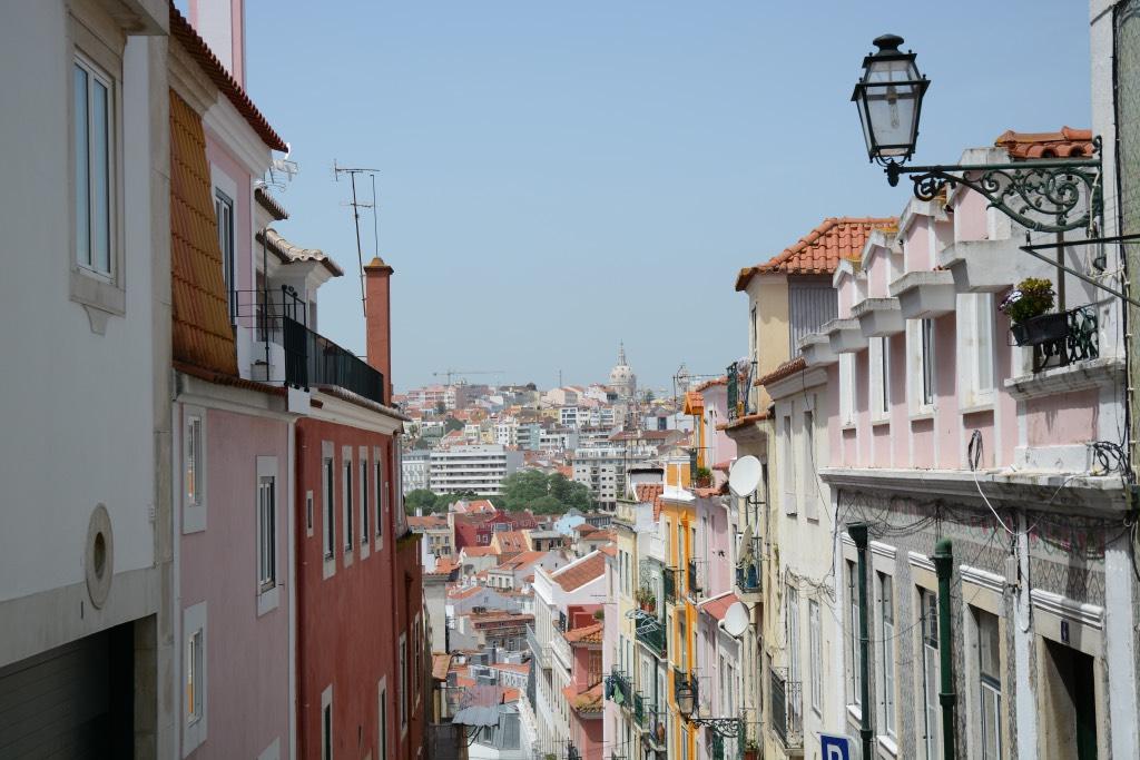 Geniet weer van de uitzichten over het mooie Lissabon