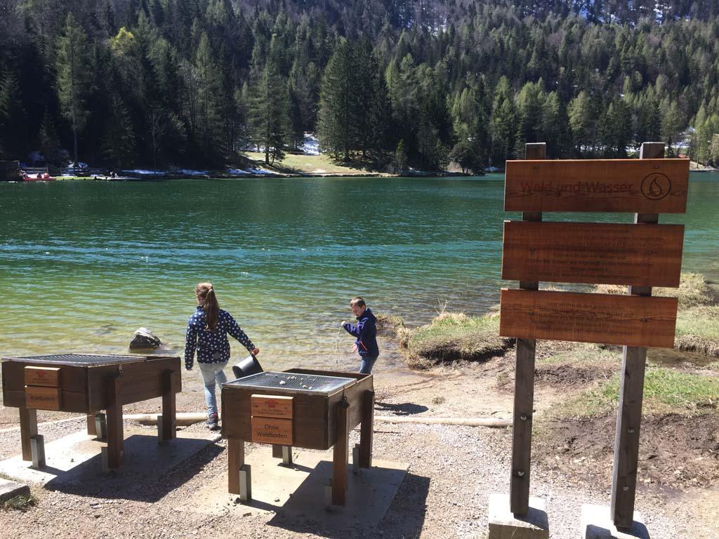 Alpenwelt Karwendel is een mooie wandelbestemming voor gezinnen.