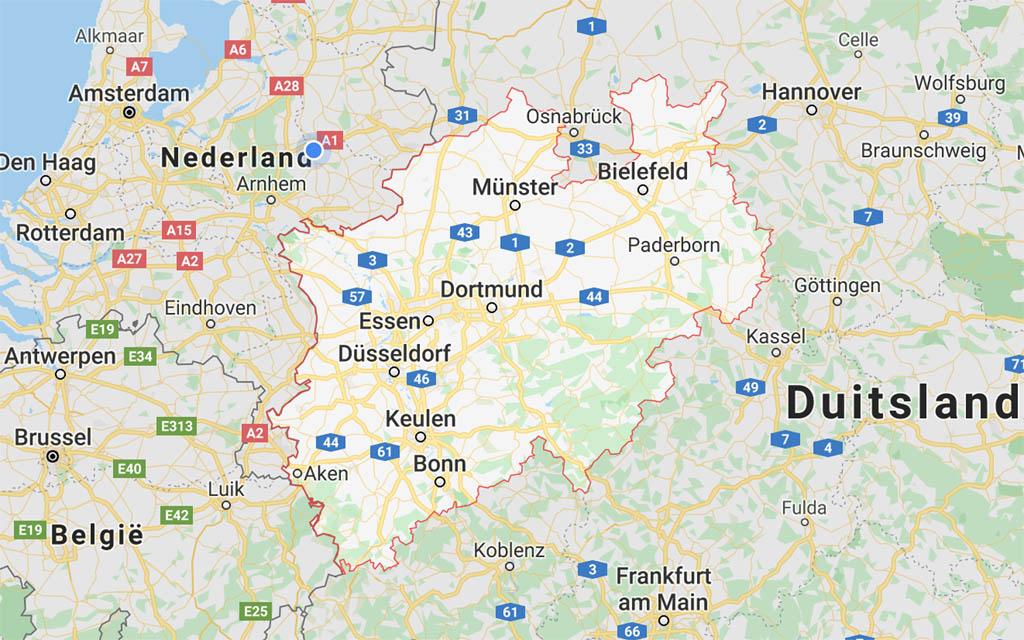 Ook Noordrijn-Westfalen is een goede dichtbij bestemming voor een zomervakantie in Duitsland.