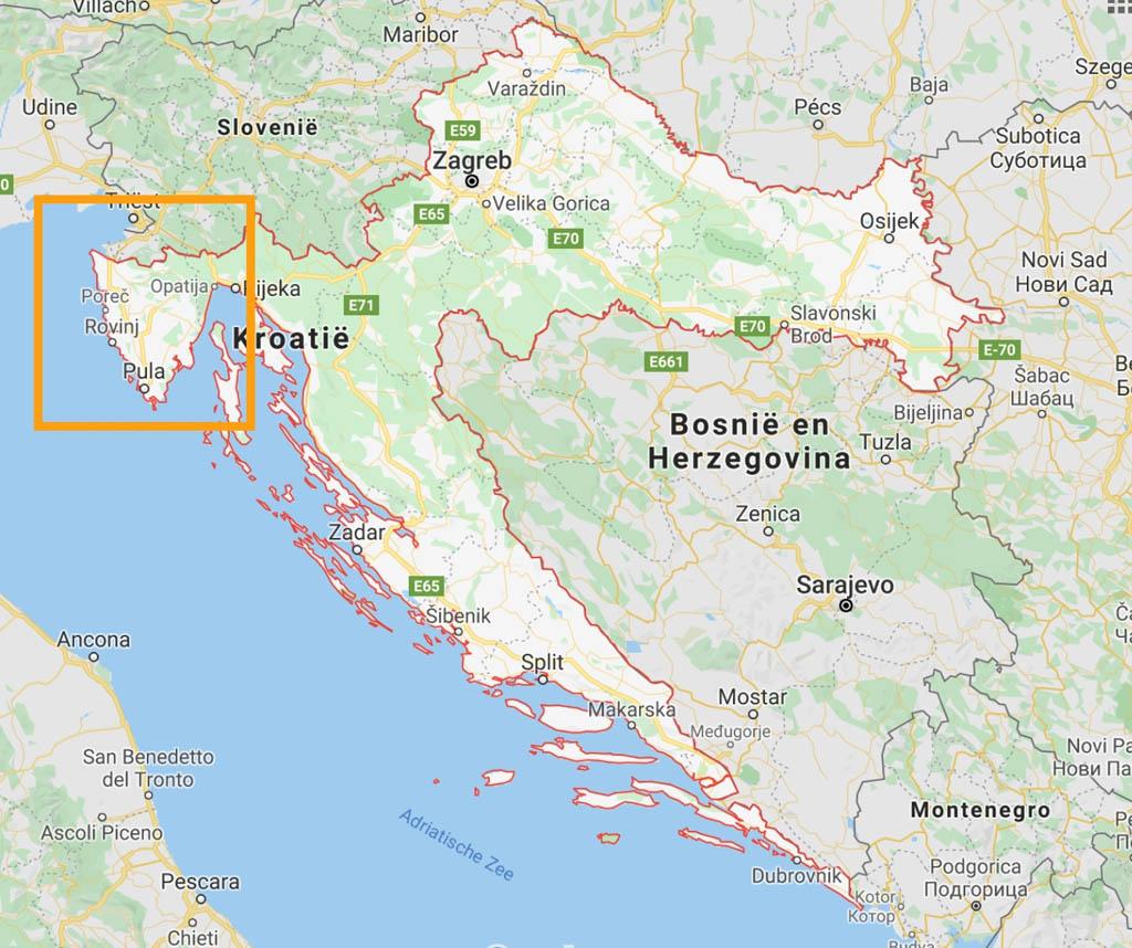Istrië is een geliefde bestemming voor een zomervakantie in Kroatië met kinderen.