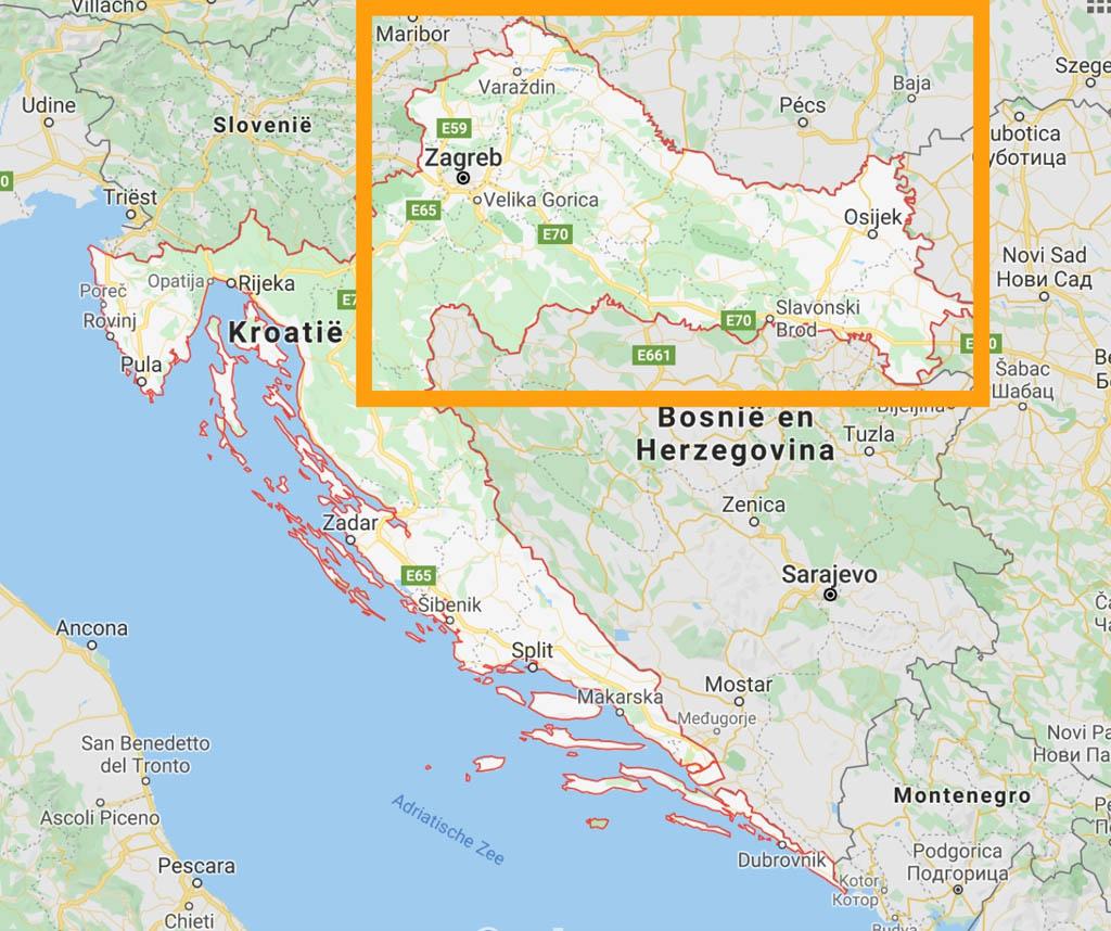 Het noordoosten van Kroatië is een goede vakantiebestemming als je kiest voor een minder toeristisch gebied.