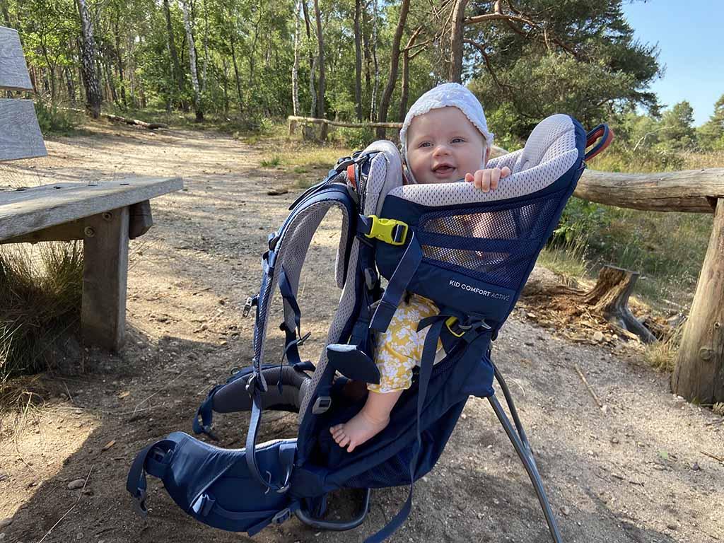 De Deuter Kid Comfort Active; een comfortabele en lichtgewicht rugdrager