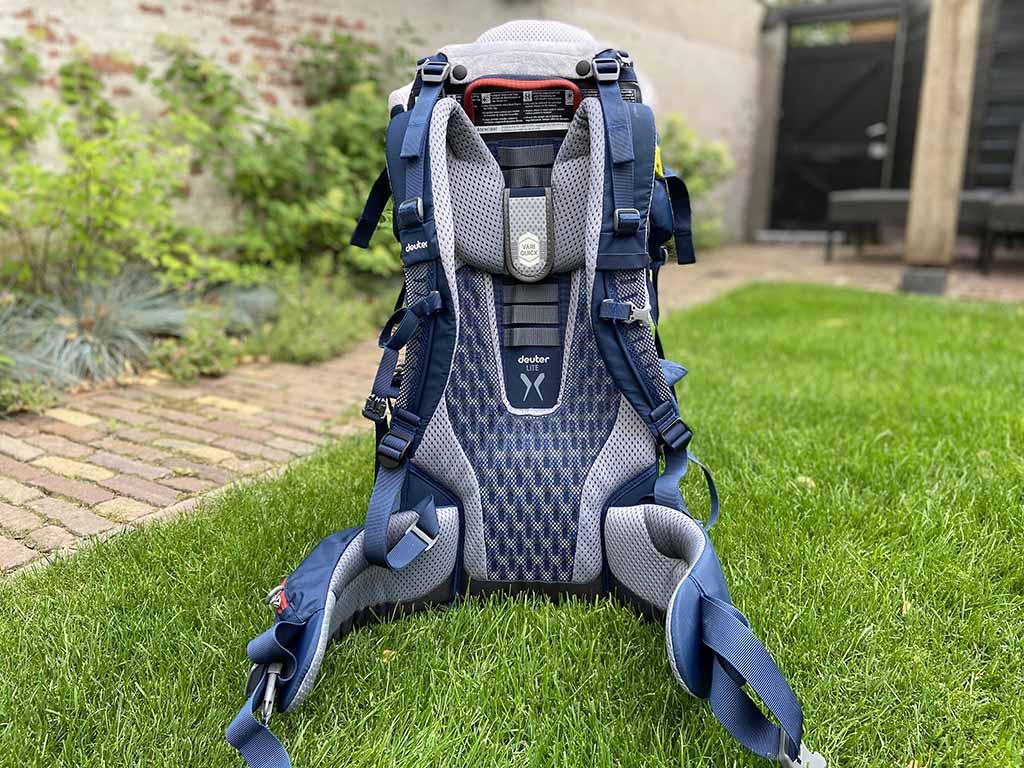 De binnenkant van de Kid Comfort Active voelt comfortabel en luchtig aan.