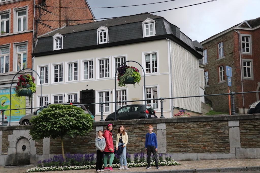 Ons vakantiehuis in de Ardennen bevindt zich midden in het centrum van Spa.