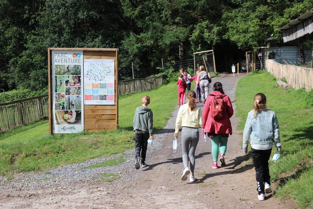 In Forestia kun je je met gemak een hele dag vermaken als je klimmen combineert met het wildpark.