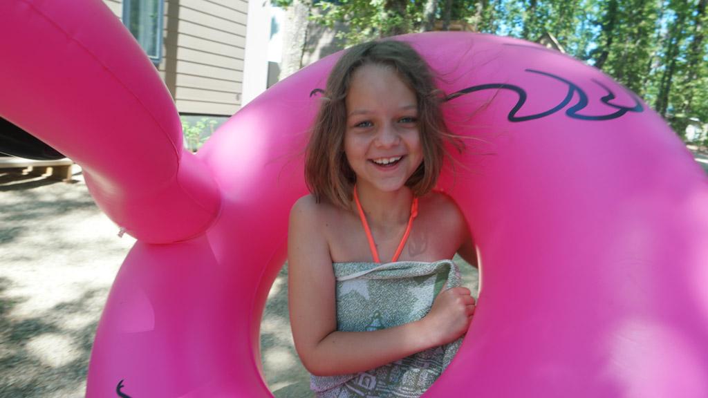Flamingo, waar ga je met dat meisje heen?
