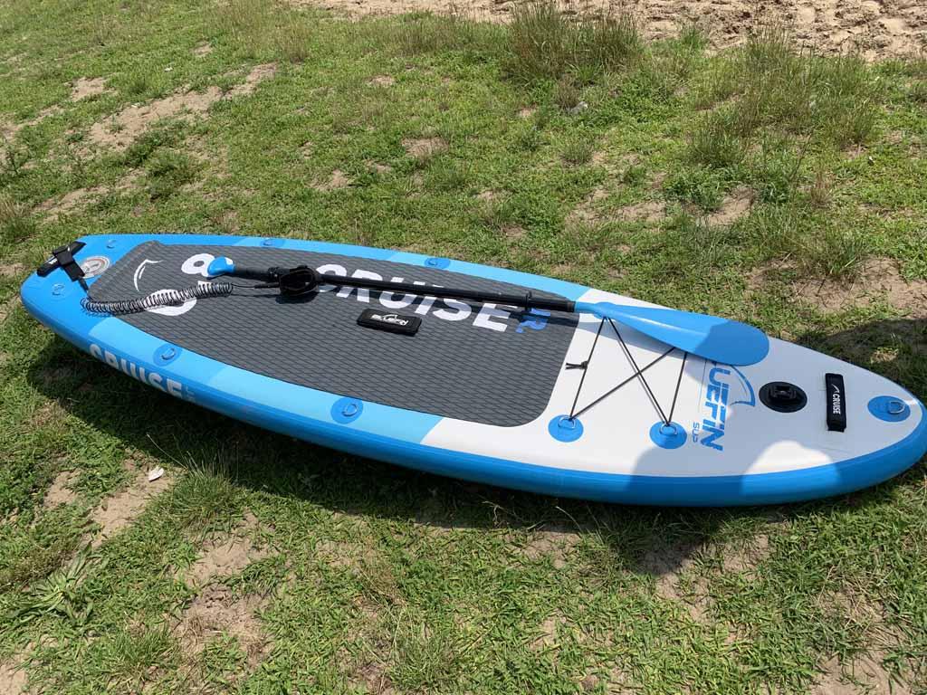 We kiezen voor dit supboard voor kinderen: de Bluefin Cruise Junior.