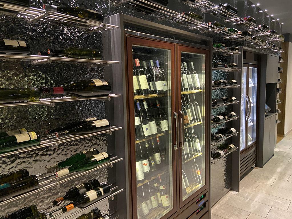 Ook qua wijn is er volop keuze.
