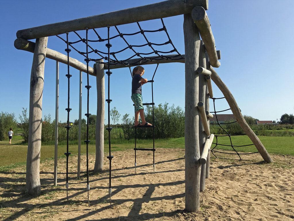 Met een volle buik kun je prima klimmen.