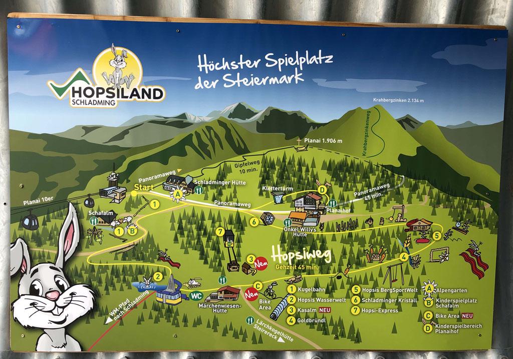 Mooi overzicht van wat er te doen is in Hopsiland