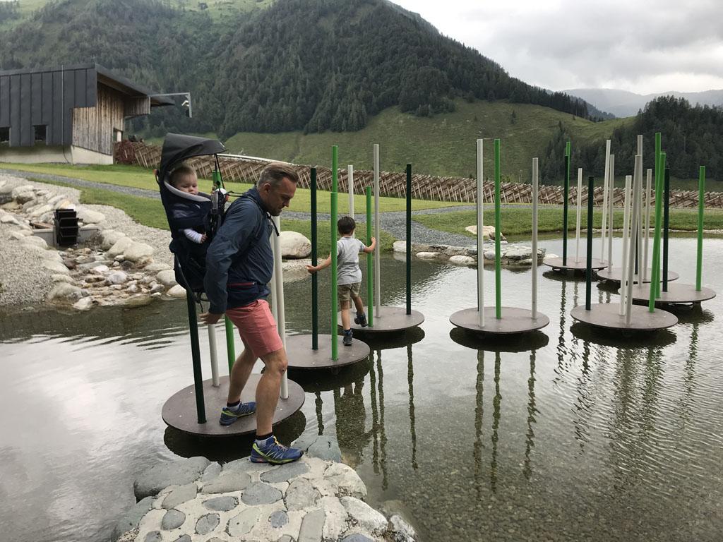 Timoks Wilde Welt is een super leuke speeltuin bovenop de berg in Fieberbrunn.