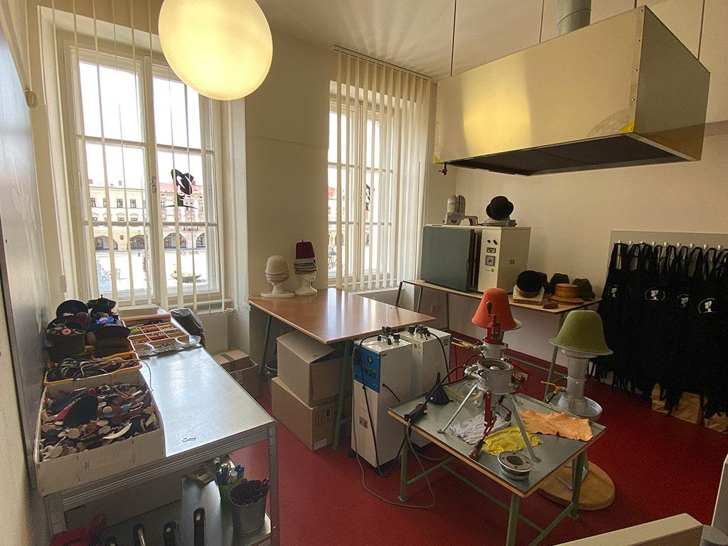 Er is ook een atelier en een knutselruimte bij het museum