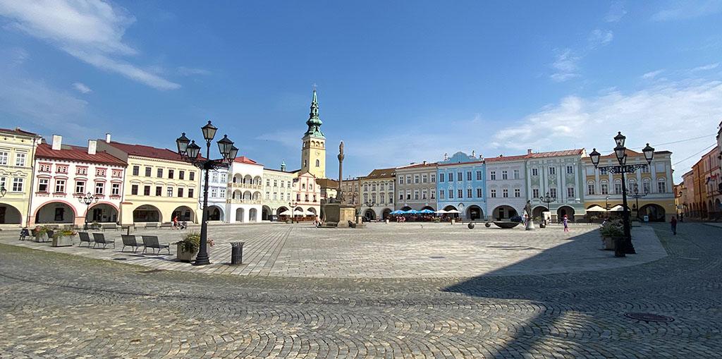 Novy Jicin heeft de prijs gewonnen voor het mooiste plein van Tsjechië