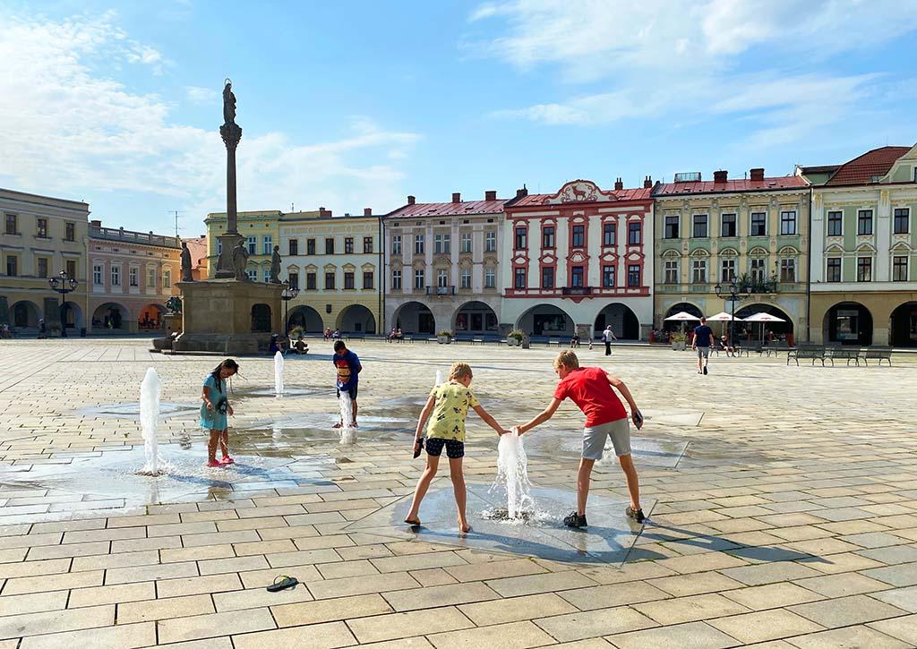 Ook dit stadje is wat ons betreft niet te missen tijdens een vakantie in Moravië en Silezië