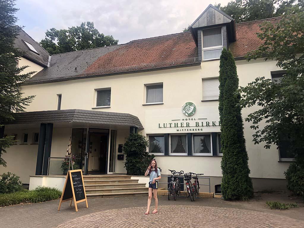 Hotel Luther Birke is een fijne uitvalsbasis tijdens een vakantie in Saksen-Anhalt