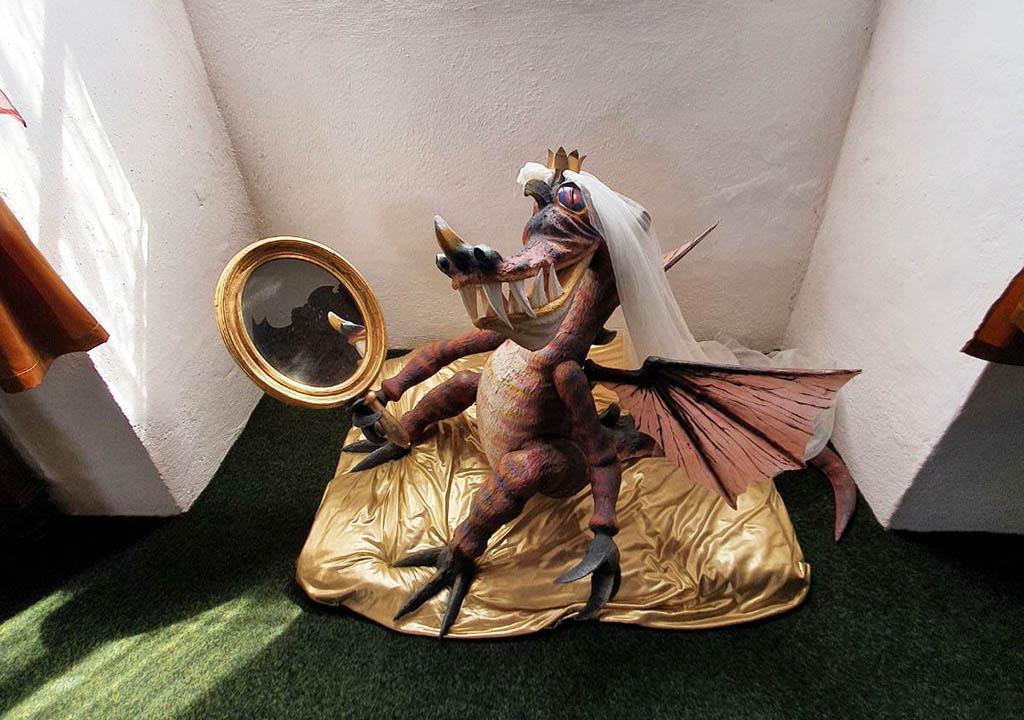 Een van de drakenprinsesjes