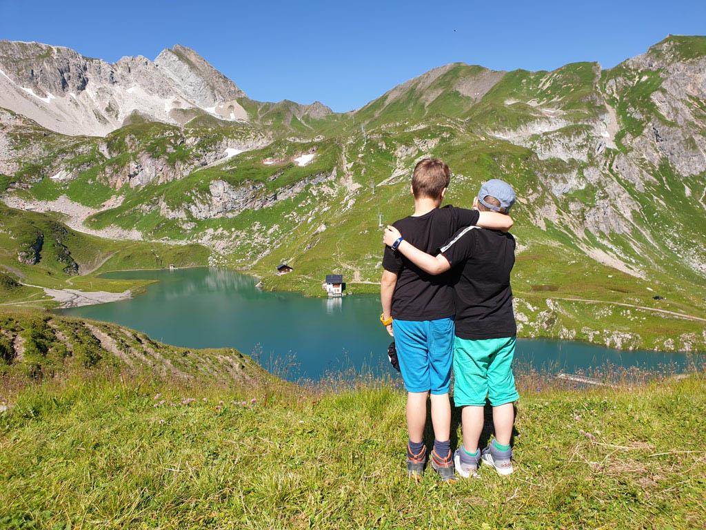 Misschien is dit wel één van de mooiste plekjes van Lech am Arlberg, de Zürsersee vakantie-lech-am-arlberg.20