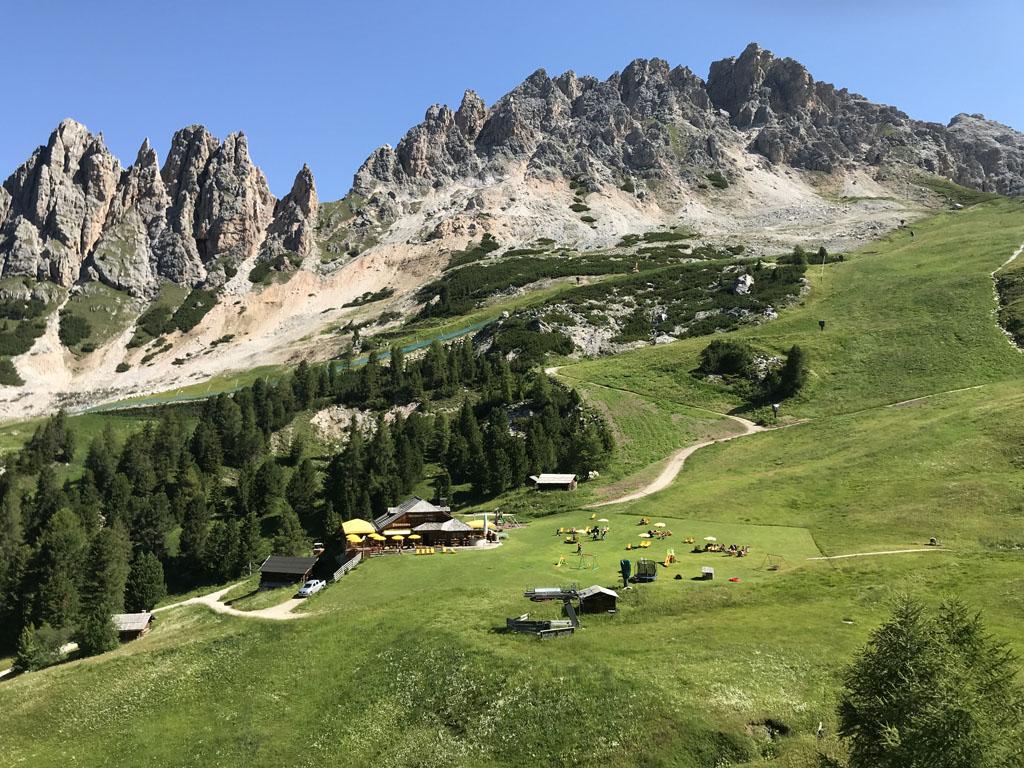 Val Gardena behoort tot het UNESCO bergmassief Dolomieten