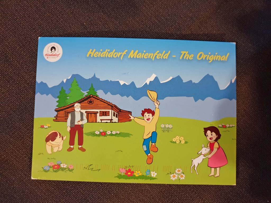 heidi-in-de-bergen-24 Nog nooit zo blij geweest als met deze ansichtkaart