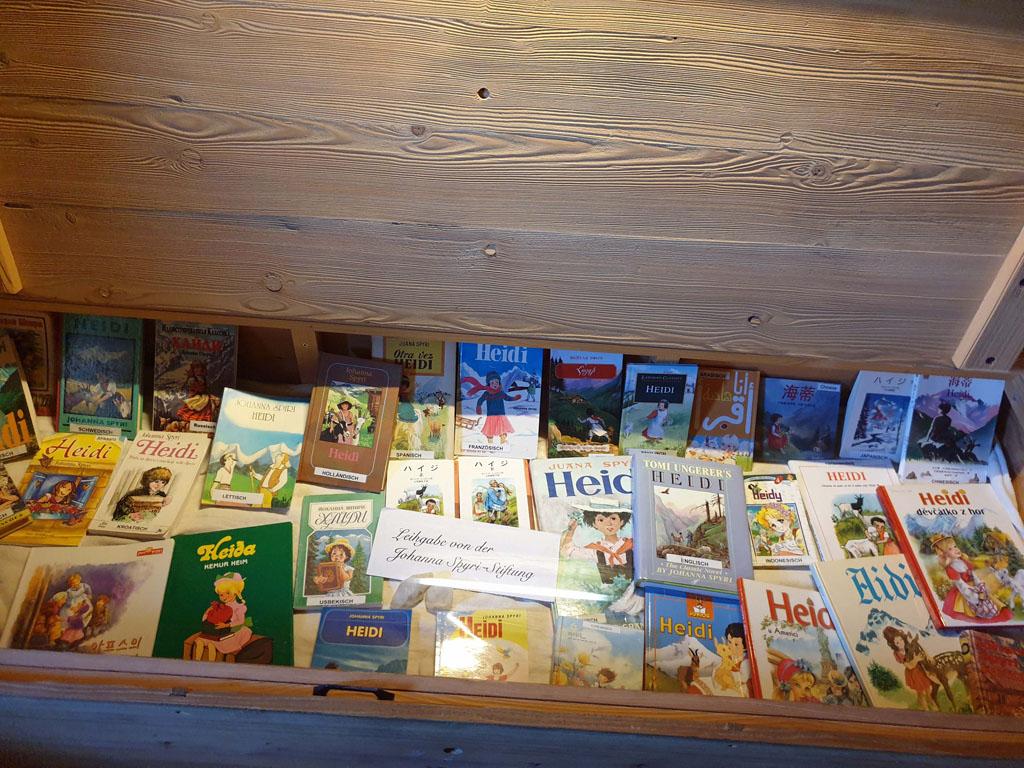heidi-in-de-bergen-5 Een kist vol met boeken, Heidi in wel 50 talen