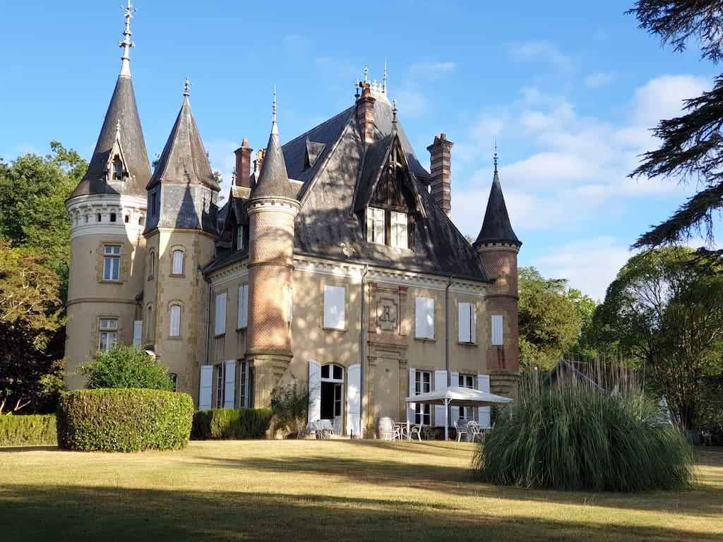 Wat een plaatje is het kasteel!
