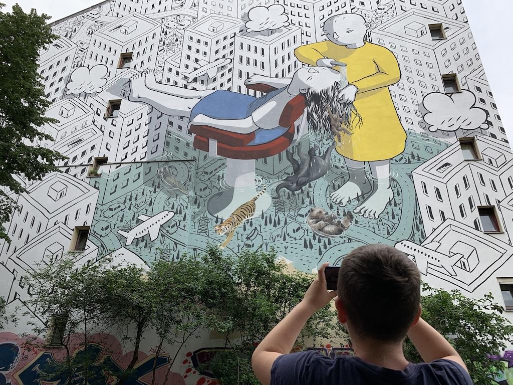 Street art tour in Berlijn.