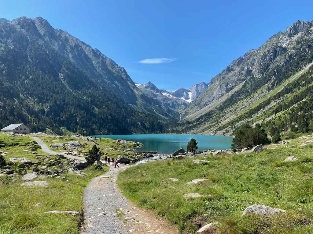 Lac de Gaube in de Pyreneeën