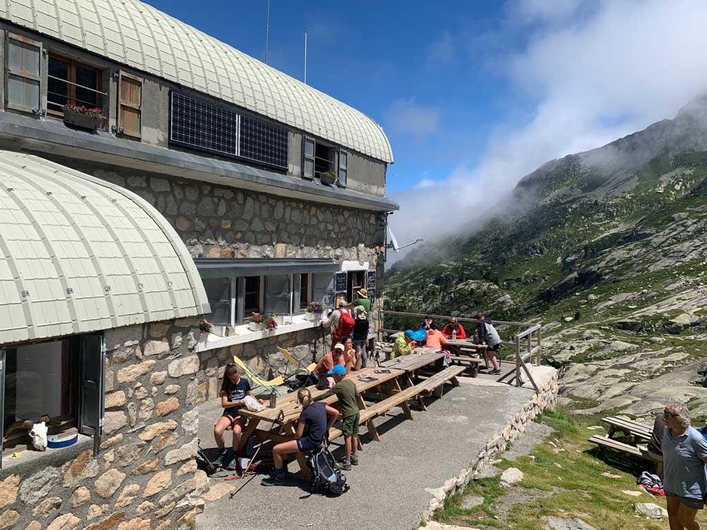 Refuge in de Pyreneeën