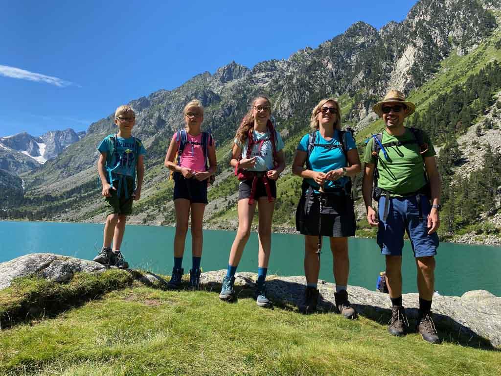 wandelen in de Pyreneeën met kinderen