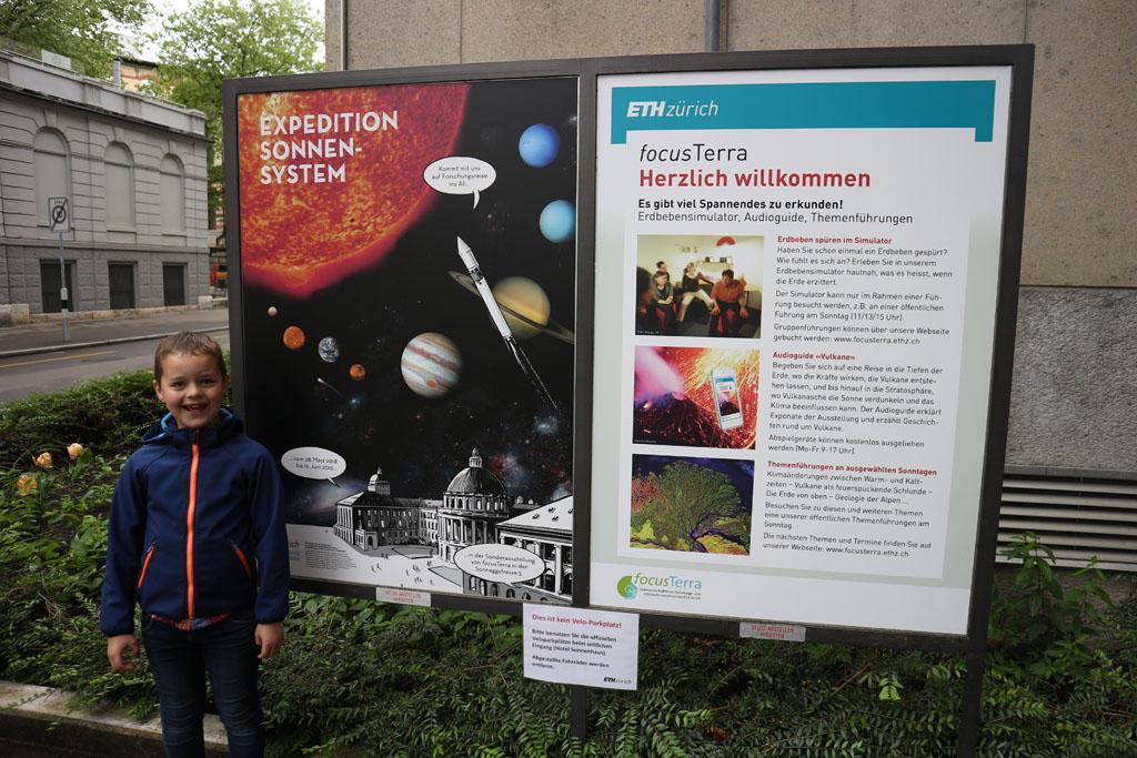 Gratis toegankelijk universiteitsmuseum in Zürich.