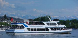 In Zürich was de boot gratis met de Citycard.